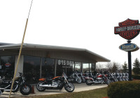Leased Former Harley Davidson Store in McHenry