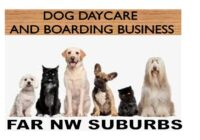 SOLD Dog Daycare and Boarding Business